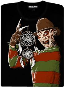 Freddy Krueger - Noční můra v Elm Street - dámské tričko s potiskem