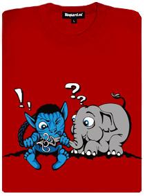Avatar se chce spojit se slůnětem, to nechápe co se děje