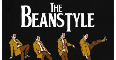 The Beanstyle - Mr. Bean na přechodu - černé pánské tričko
