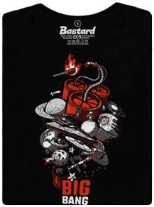 Velký třesk - černé dámské tričko