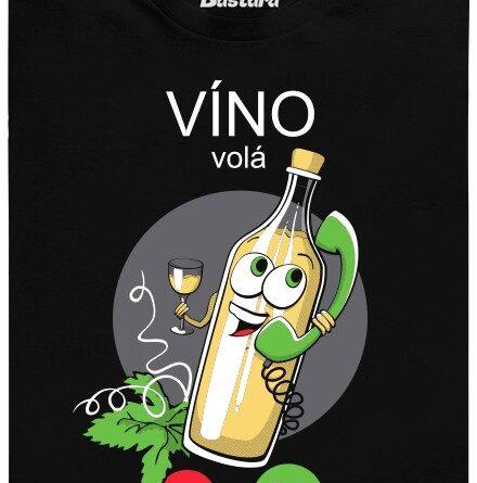 Vinný čas, alias vinobranní - černé pánské tričko