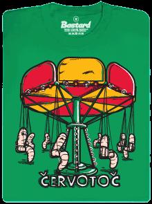 Červotoč - červi na kolotoči - tričko