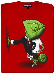 Mistr převleků - chameleon