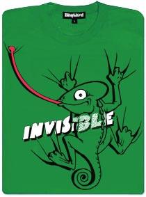 Neviditelný chameleon - dámské tričko