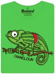 chameloun - zelené dámské tričko