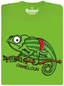 Chamemeloun - zelené pánské tričko