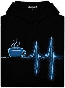 Coffee help - černá dámská mikina
