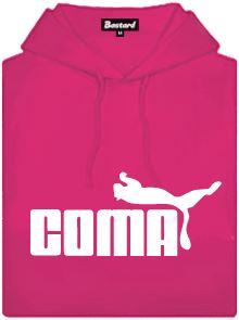 Coma - fuchsiová dámská mikina