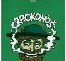 Crackonoš - zelené pánské tričko