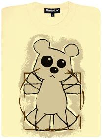 Da Vinci medvídek - dámské tričko