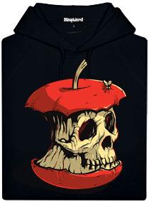 Dead Apple - černá pánská mikina