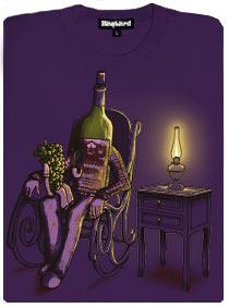 Malé hrozno poslouchá příběh archivního vína