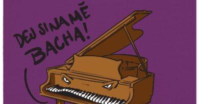 Dej si na mě bacha! - fialové dámské tričko
