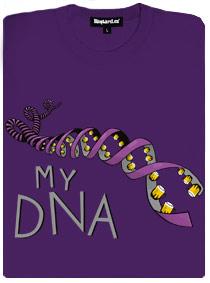 Moje pivní DNA - dámské tričko s potiskem