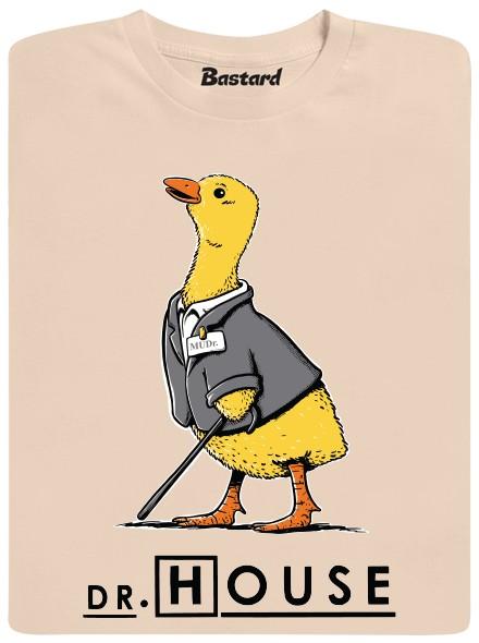 Dr. House - hnědé pánské tričko