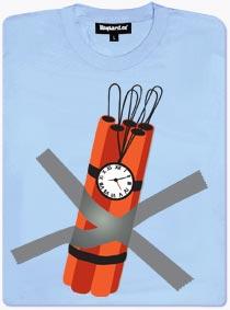 Dámeské tričko s potiskem dynamit