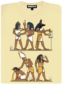 Řádná egyptská párty s výčepem a maskama