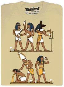Egyptské malby - egyptská párty