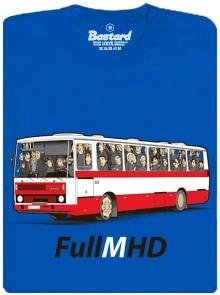 Full (M)HD - modré pánské tričko