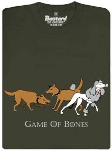 Game of Bones - Hra o kosti - hnědé pánské tričko
