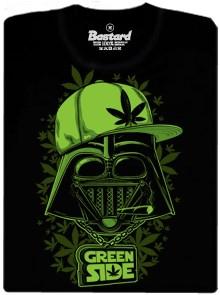 Darth Vader se dal na zelenou stranu - pánské tričko s potiskem