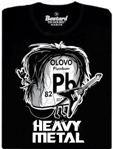 Heavy metal - pánské tričko s potiskem