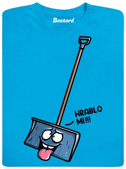 Hráblo mi!!! - modré pánské tričko