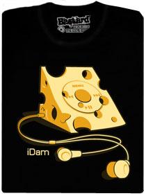 iDam, hudební přehrávač nové generace, který vypadá jako sýr
