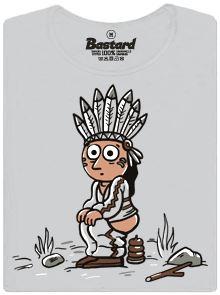 Výroba praveho indiánka - dámské tričko