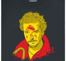 Marv jako Iron man po zásahu žehličkou - šedé pánské tričko