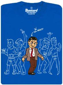 Já na párty (Mr. Bean) - modré pánské tričko