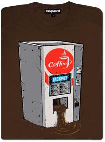 Takhle to vypadá, když v automatu na kávu padne jackpot