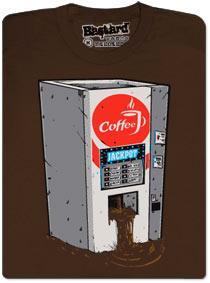 Jackpot automat na kafe