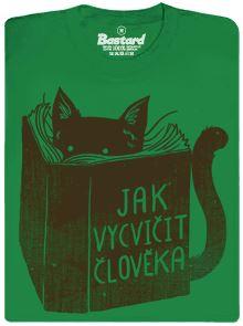 Jak vycvičit člověka - kočičí příručka - pánské tričko