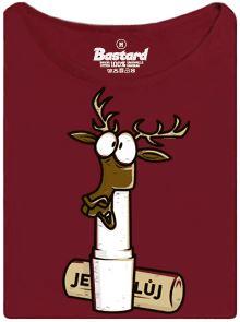 Pravý jelen v jelením loji - dámské tričko