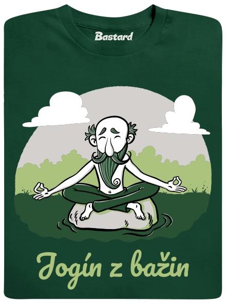 Jogín z bažin - zelené pánské tričko