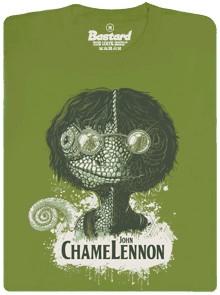 John ChameLennon - zelené pánské tričko