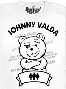 Švédská trojka - Johhny Valda - bílé dámské tričko