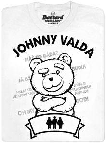 Johnny Valda - Švédská trojka - bílé pánské tričko