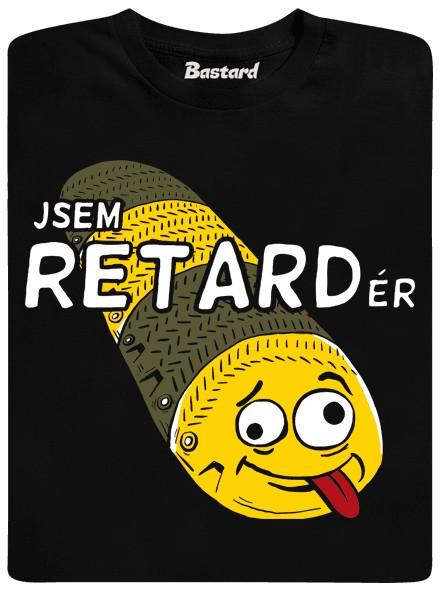 Jsem retardér - černé pánské tričko