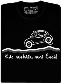 Kdo neskáče není Čech! - české silnice