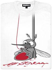 Komár saje krev z kapačky