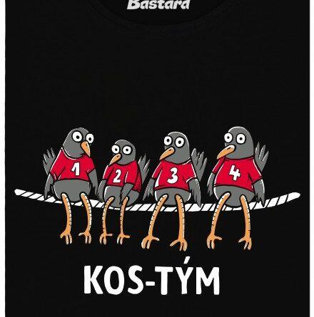 Nejlepší kos-tým všech dob - černé dámské tričko