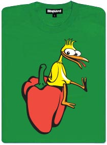 Kuře na paprice - dámské tričko