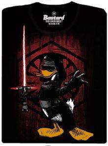Starwars - Kylo Duck - černé pánské tričko