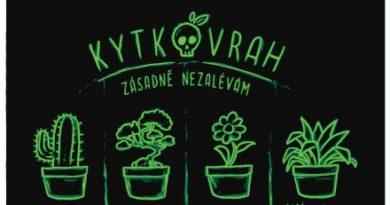 Vrah kytek co zásadně nezalévá - černé dámské tričko