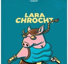 Lara Chrocht - modré pánské tričko
