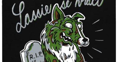Lassie vstává z hrobu - černé pánské tričko