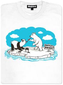 Lední medvěd se maskuje jako panda