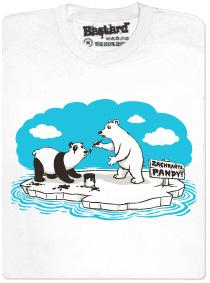 Lední medvědi se přebarvujou na pandu